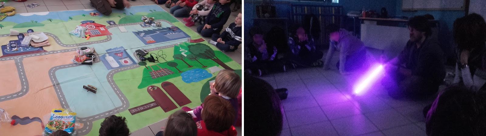 Attività entusiasmanti per i bambini che partecipano al progetto scuole