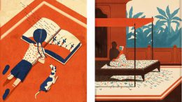 Emiliano Ponzi - Arrows (Left) / The New Guru (Right)