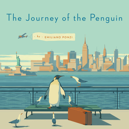 Copertina de Journey of the Penguin di Emiliano Ponzi