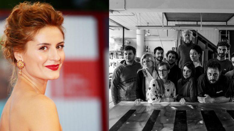 Lidiya Liberman ed il team di Studio Nucleo