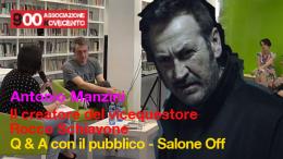 Antonio Manzini creatore del vicequestore Rocco Schiavone