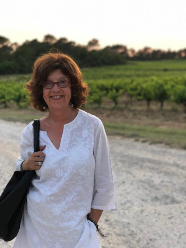 Rosalba Graglia giornalista torinese, scrive di viaggi e di enogastronomia