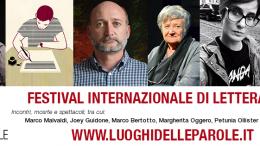 Marco Malvaldi, Joey Guidone, Marco Bertotto, Margherita Oggero, Petunia Ollister e Marcello Fois