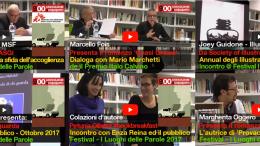 Marco Malvaldi, Joey Guidone, Marcello Fois, Marco Bertotto, Petunia Ollister, Margherita Oggero, David Puente e tanti altri