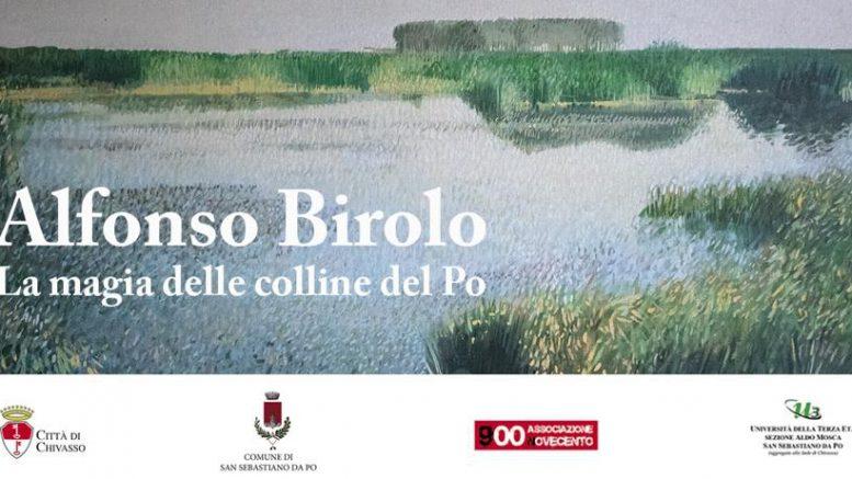 Alfonso Birolo, mostra di pittura