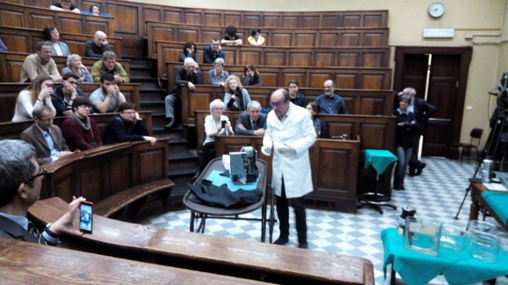 Autopsia di una macchina del caffé; Vittorio Marchis all'opera