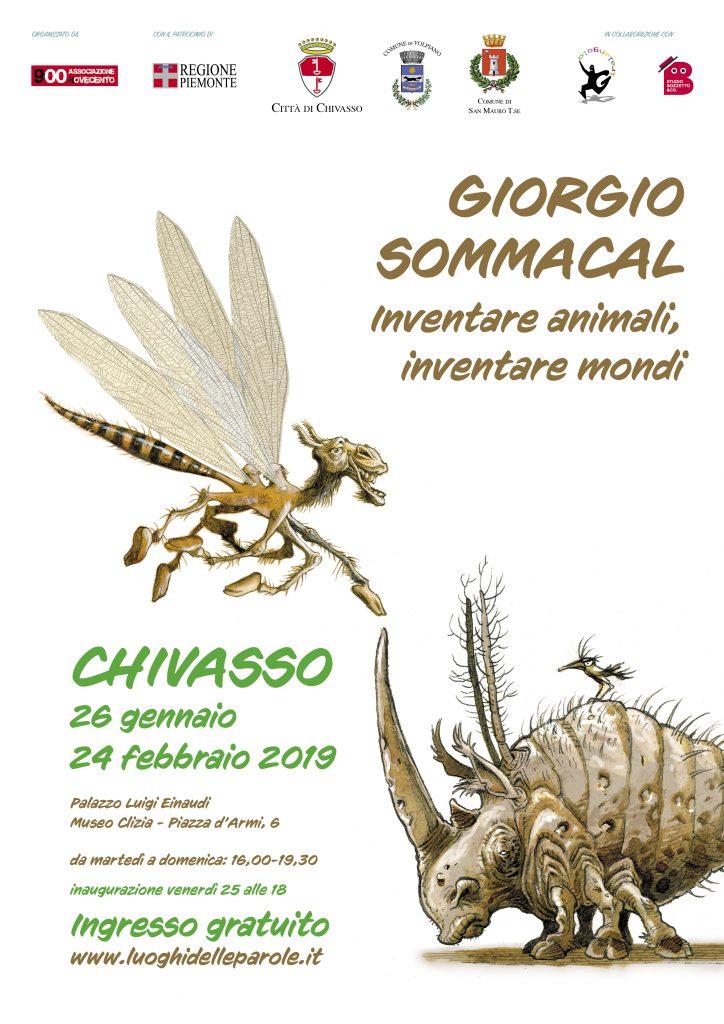 Giorgio Sommacal in Mostra a Chivasso