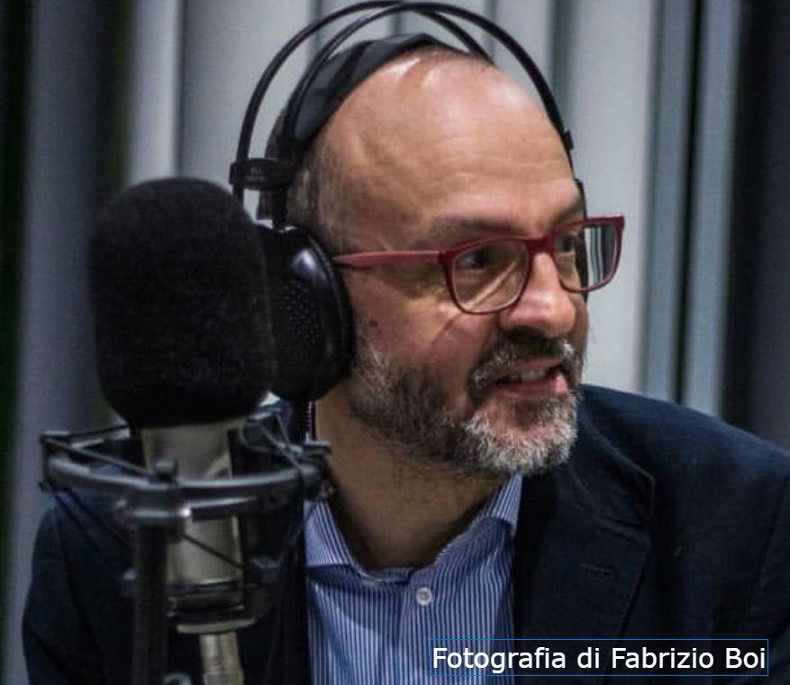 Alessandro Perissinotto; foto di Fabrizio Boi