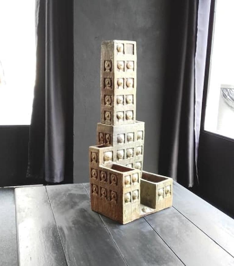 'La Città Omicida' di Clizia in esposizione alla Mostra (IM)PERMEABILI