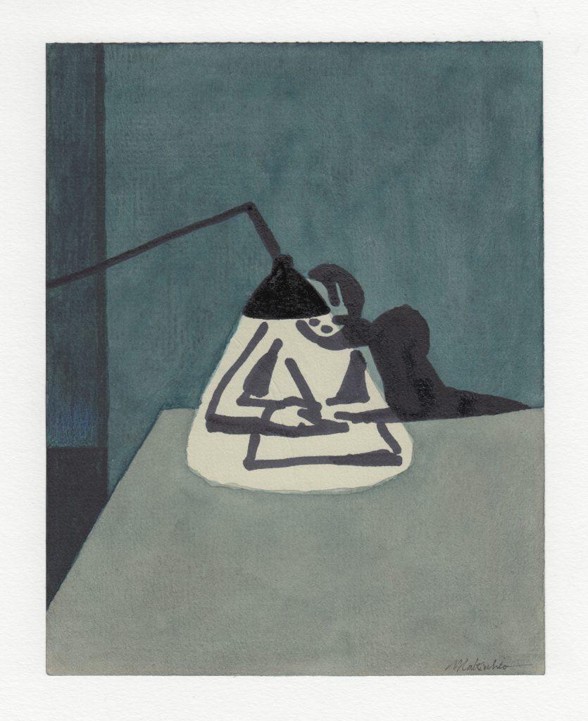 'Lampada'; Illustrazione di Franco Matticchio