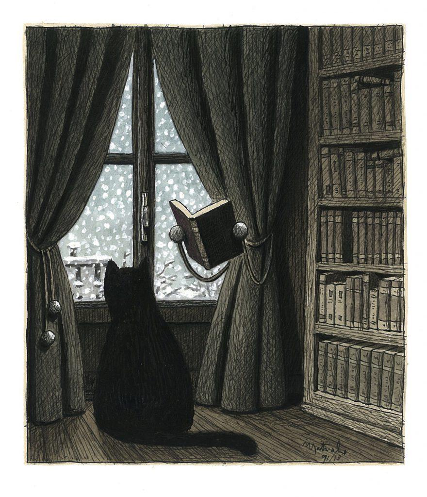 'Tenda'; Illustrazione di Franco Matticchio