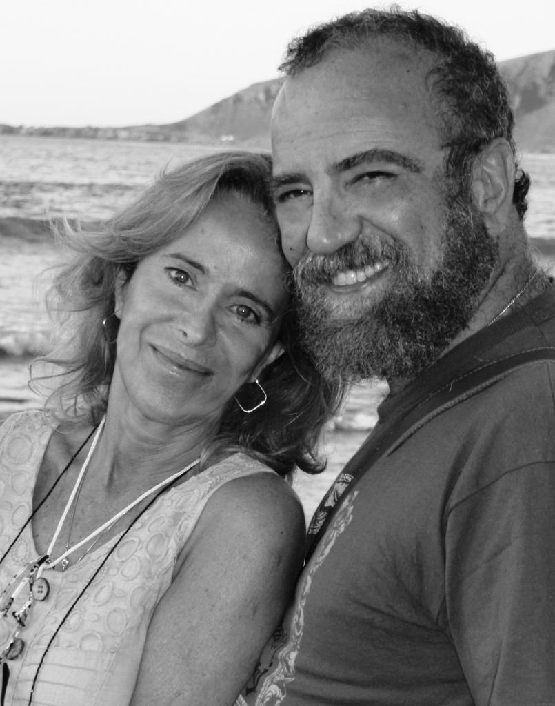 Giobbe Covatta e Paola Catella