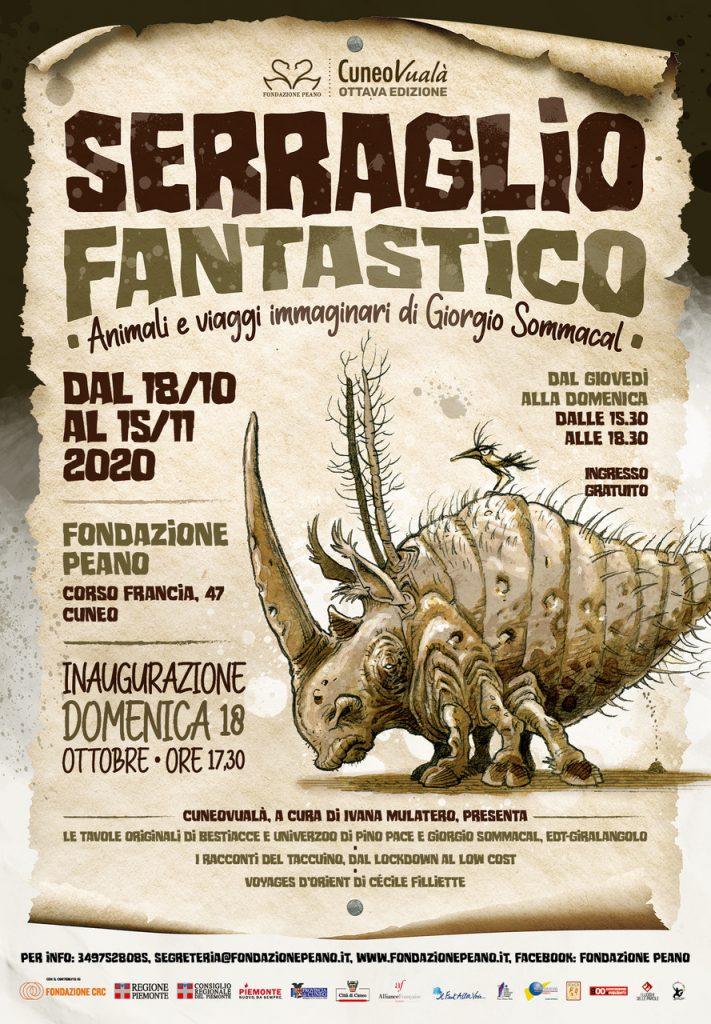 Serraglio Fantastico, Mostra Illustrazioni di Giorgio Sommacal