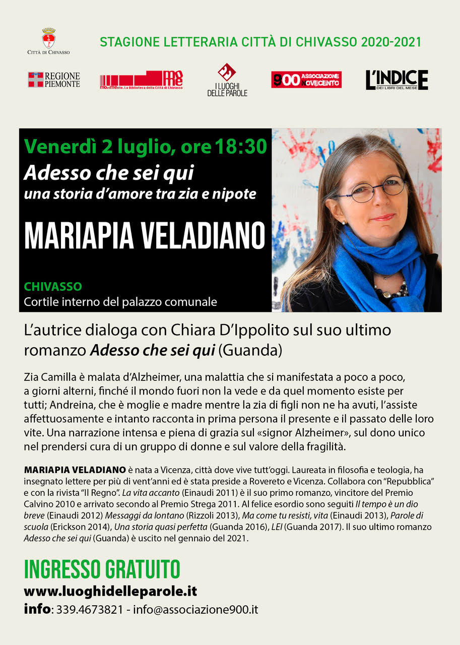 Mariapia Veladiano - evento