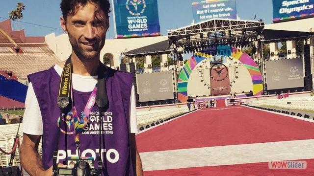 Fabio Rinaldi, fotografo - Special Olympics
