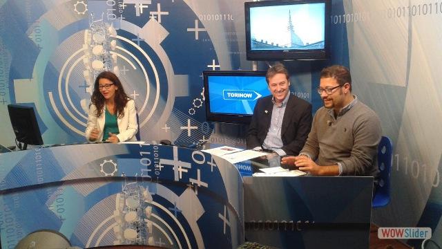 Paolo Fasolo e Davide Ruffinengo - intervista tv a Videogruppo